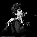 Giuliano Prada, flautista che collabora con GItanos sin Cueva